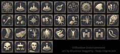 Pillars of Eternity Steam achievements by tigrin.deviantart.com on @DeviantArt