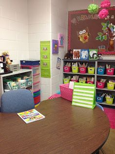 Miss Kindergarten: Classroom Decor Pins Linky Party!
