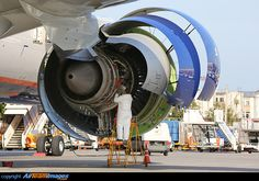 engine maintenance - General Electric Engine - Boeing - Aeroflot Russian Airlines - Moscow - Sheremetyevo - Russia - by Artyom Anikeev Turbine Engine, Gas Turbine, Motor Jet, Aircraft Maintenance Engineer, Tupolev Tu 144, Turbofan Engine, Aircraft Engine, Jet Engine, Boeing 777