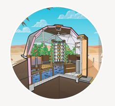 This is a great Open Source Project. You get the floor plans and the design of a full off grid system, where you can grow food and raise fish with aquaponics.Is the first project to be designed and documented by 'Alightmouse:Open Source Projects', this release contains a set of construction documents for a 10 Square metre Geodesic Dome Greenhouse. This 10.6mb ZIP file package includes construction plans, a recommendation guide and a preliminary materials schedule.All 100% free.Dowlo...