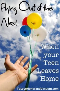 It's hard to believe that one day it may all be over....the day they grow up and fly from the nest. {click to read}
