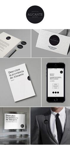 Diseño de Identidad Corporativa para Paseando por Alicante #marca #diseño #design #brand #graphic