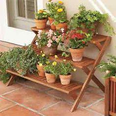 Pin de alina duran em decora o e inspira o pinterest - Estantes para plantas ...
