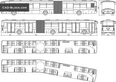 Only on our web site, you can purchase high-quality AutoCAD blocks of public transport, drawn in all projections and very well detailed. Luxury Bus, Cad Blocks, Cad Drawing, Busses, Very Well, Public Transport, Autocad, Concept Cars, Caravan