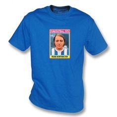 Allan Clarke 1970 (Leeds United) Royal Blue T-Shirt Leeds United, Frank Worthington, Royal Blue T Shirt, Huddersfield Town, Punk, Football, Stickers, Mens Tops, Shirts