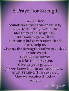 Do you feel weak ? God can turn it around by renew your strenght .