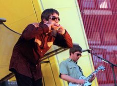 Post your rare Oasis pics : ) Great Bands, Cool Bands, Absolute Radio, Oasis Band, Liam And Noel, Liam Gallagher, Just Believe, Best Rock