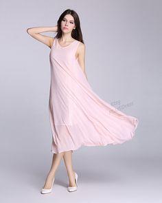ANY SIZE chiffon dress with soft lining maxi dress plus size dress plus size tops plus size clothing summer dress summer clothing
