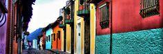 La Candelaria in Bogota, Colombia,  UNESCO site