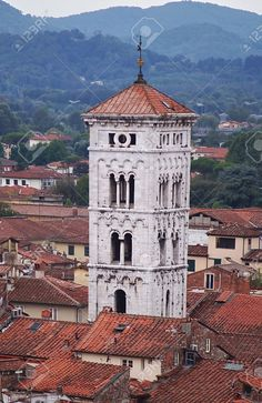 http://www.123rf.com/photo_54476510_bell-tower-of-church-of-san-michele-in-foro-lucca-tuscany-italy.html
