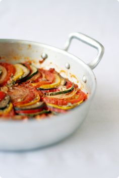 I have been dying to make ratatouille ever since the movie came out.