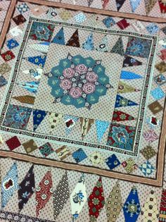 Mrs Billings is one of my favourite antique quilts of all time. The original is a stunning masterpiece created by a very talented seamst...