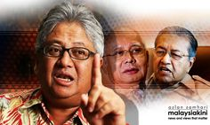 'Without debate, Najib can say anything he wants, but he will always be…