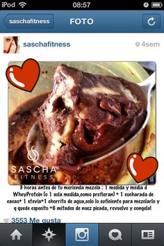 Sascha fitness 1200 Calorie Diet Plan, Healthy Snacks, Healthy Recipes, Healthy Eating, Good Food, Yummy Food, Low Carb Desserts, Fitness Nutrition, Clean Recipes