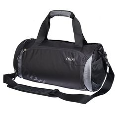 Mixi Trendsetter Carry On Sports Gym Bag Travel Duffel Bags with Shoulder Strap, Zippered Shoe Compartments ** Check this awesome product by going to the link at the image. (This is an Amazon Affiliate link and I receive a commission for the sales)