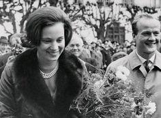 europeanmonarchies:  Princess Benedikte of Denmark with her husband Prince Richard zu Sayn-Wittgenstein-Berleburg