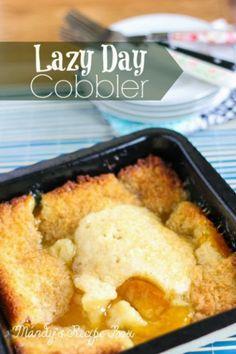 Lazy Day Cobbler | Mandy's Recipe Box