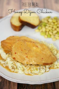 {Freezer Meal} Honey Dijon Chicken | Plain Chicken