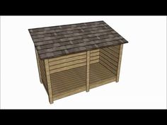 This step by step diy woodworking project is about firewood storage shed shed plans. The project features instructions for building a simple a storage shed that is large enough to keep one cord of wood.