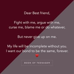 Dedicated to my bff ❤mahi❤ Besties Quotes, Best Friend Quotes, True Quotes, Bestfriends, Bestfriend Quotes Deep, Dear Best Friend, Friend Poems, Depressing Quotes, Heart Quotes