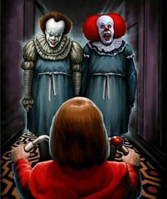 BOTH'S PENNYWISE EVIL DANCE CLOWN