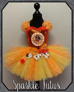 Moana Inspired Tutu Dress Princess Fancy Dress Costume - 10-11