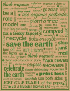 Free Earth Day Poster