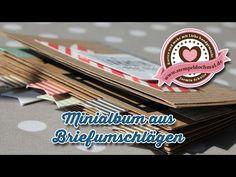 Freitagsvideo: Minialbum aus Briefumschlägen -Basteln mit Stampin' Up!