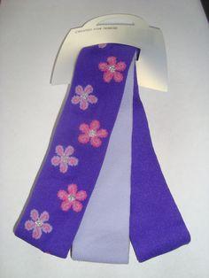 BN Tesco Pack of 3 Girls Headband Purple Lilac Pink Flowers Stocking Filler | eBay  #TattyDevineLilac