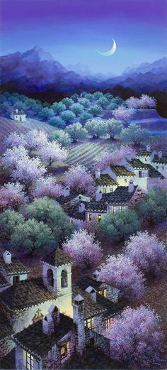 "Luis Romero ""Almonds and Olive Groves"""