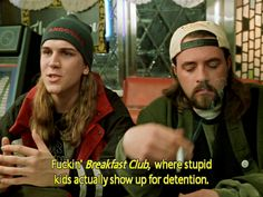 Jay & Silent Bob on The Breakfast Club