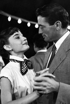 Audrey & Gregory in Roman Holiday
