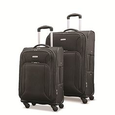 Samsonite 2 Piece Softside Spinner Luggage Set Advance XLT Lightweight for sale online Luggage Brands, Luggage Store, Luggage Sets, Best Luggage, Travel Luggage, Best Deals Online, Online Bags, Travel Accessories, Victorious