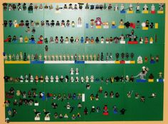 The Lego wall - this has a link to a place (with coupon code) where you can buy baseplates inexpensively