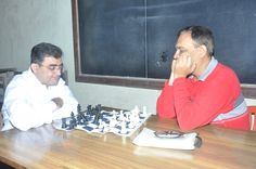 Chess at Annual Sports day - Narsee Monjee College of Commerce and Economics.