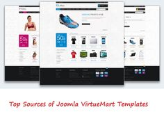 Get Top Sources of Joomla VirtueMart Templates and free installation and set-up guide.
