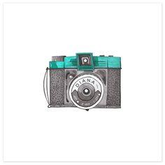 vintage camera illustrations - Google Search