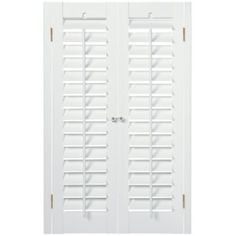 JCPenney Home™ Faux-Wood Plantation Shutter - 2 Panels  found at @JCPenney