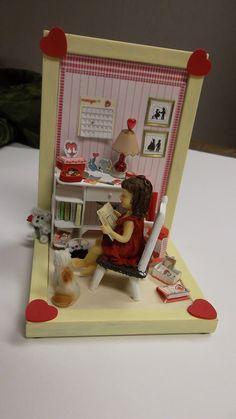 my valentine's 2012 project. Tut by Joann Swanson
