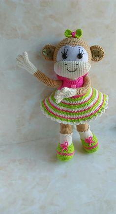 Crochet Monkey Pattern Amigurumi Crochet Toys Pattern Crochet