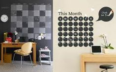 There are many design objects able to get the feel of your home look more beautiful, pleasant, harmonious and is, above all more comfortable. Blackboard Paint, Ideas Para Organizar, Hobby Room, Home Look, Decorating Blogs, Decor Interior Design, Modern Decor, Sweet Home, Home Decor