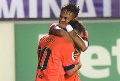 Blog Esportivo do Suíço: Neymar marca, mas sai machucado em goleada do Barcelona