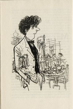 from MODERN TYPES by Geoffrey Gorey and Ronald Searle.