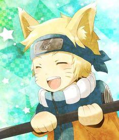 Naruto Uzumaki, Anime Naruto, Sasunaru, Anime Chibi, Kawaii Anime, Naruto Chibi, Manga Anime, Naruto Und Sasuke, Naruto Cute