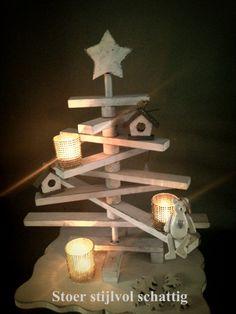 Kerst witte kerstboom