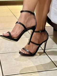 Twitter Black Sandals, Shit Happens, Twitter, Heels, Black Flat Sandals, Heel, High Heel, Stiletto Heels, High Heels