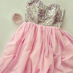 sequin sweetheart dress. 21st birthday dress, pleeeaaseeee!!!