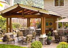 Covered Patio Designs   Bing Images