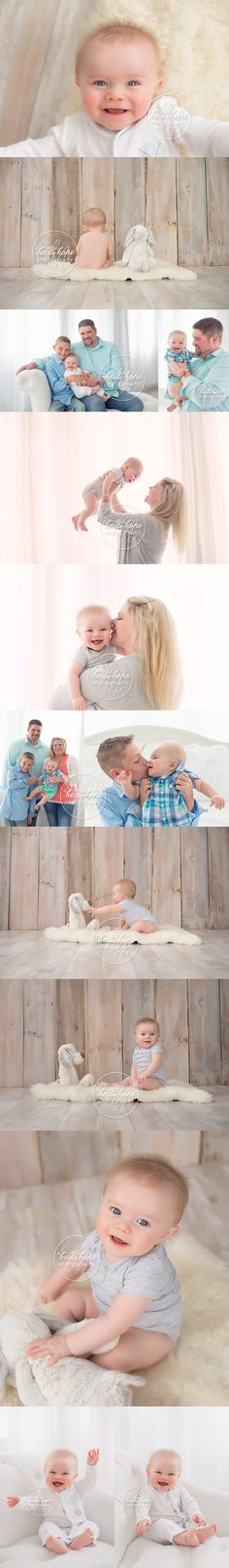 6 month old baby boy session