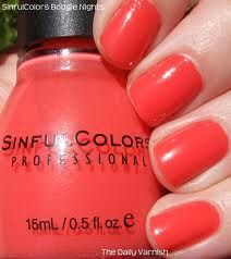 Sinful Colors - Timbleberry, an orange leaning coral creme #nail polish / lacquer / vernis, swatch / manicure